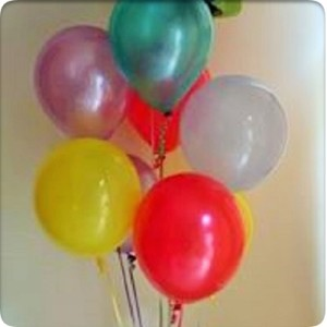 Plain and printed balloons