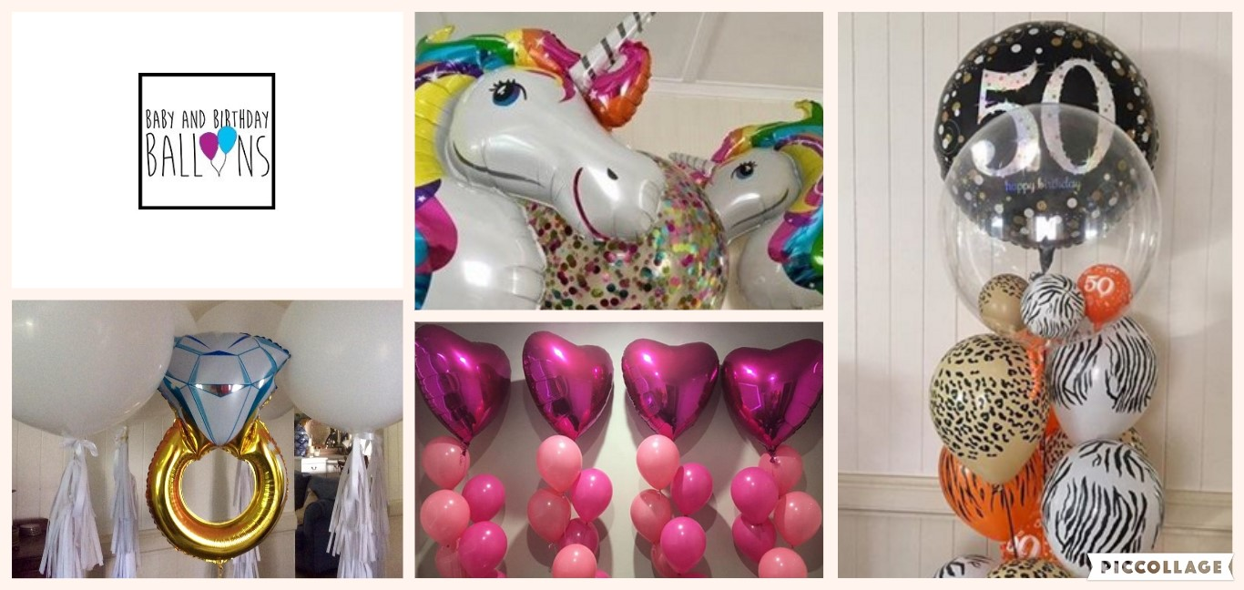 Helium Filled Foil Balloon Packages
